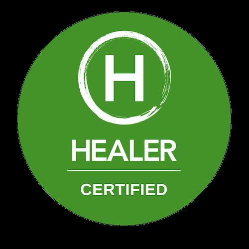 Healer Certification Seal